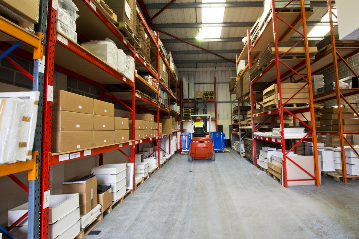 puma products warehouse in andover hampshire uk