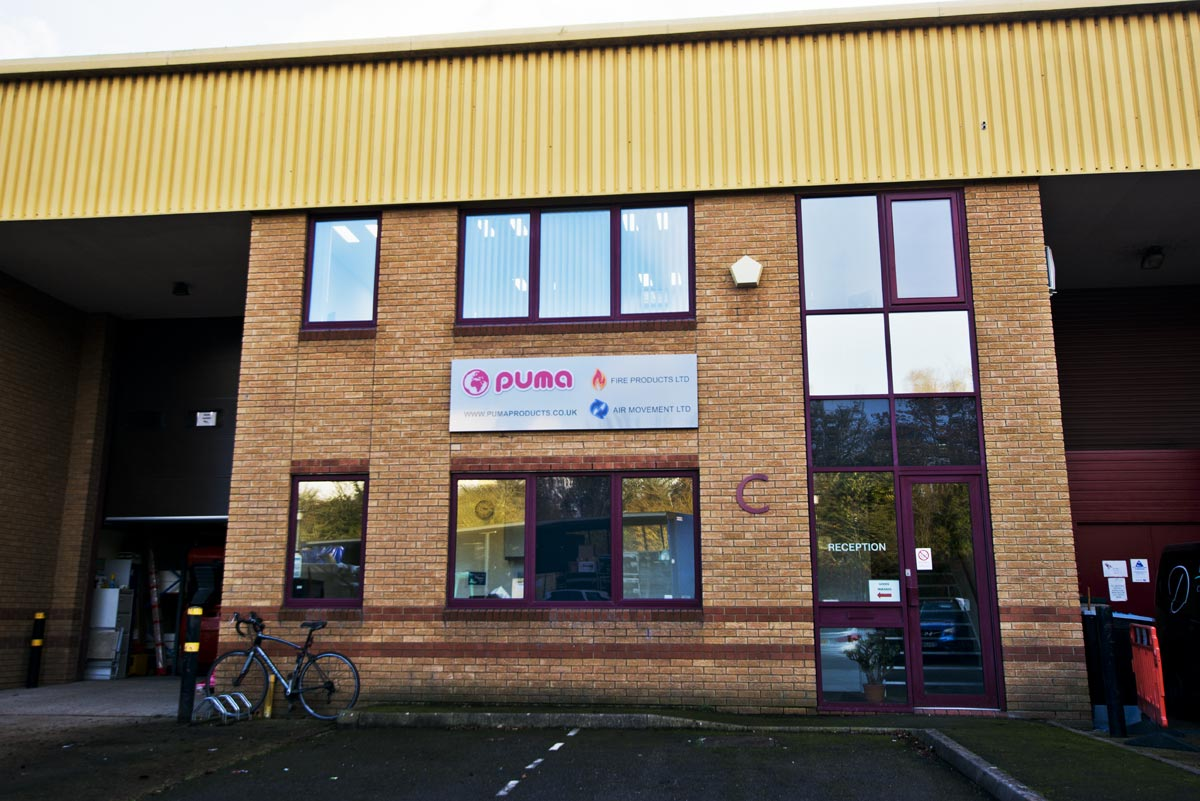 Puma International office in Andover Hampshire uk